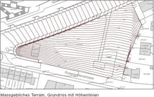 terrassierunggeplant