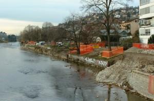 Baufortschritt am 24.11.2003