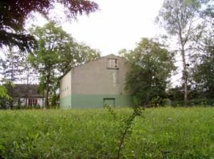 Das Gebäude des Wasserwerkes