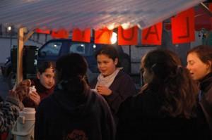 Die Wipkinger Jugend ist aktiv beteiligt.