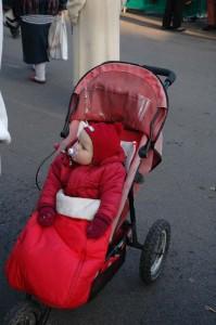 Keiner zu klein um nicht auch am Weihnachtsmarkt dabei zu sein.