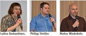 Neue Vorstandsmitglieder 2016